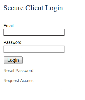 Backstop Login