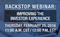 Webinar: Improving the Investor Experience - InvestorBridge for Private Equity